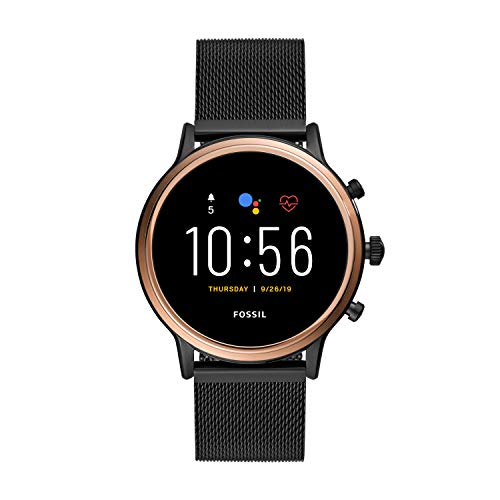 Fossil Gen 5 Julianna HR Heart Rate Stainless Steel Mesh Touchscreen Smartwatch