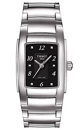 Tissot T-Classic T10 Black Dial Ladies Watch