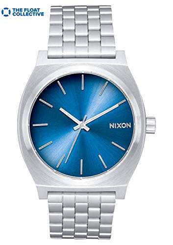 Nixon Men's Time Teller Japanese-Quartz Watch with Stainless-Steel Strap
