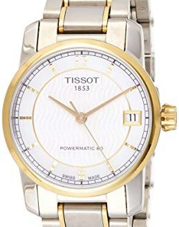 Tissot T-Classic Automatic Mother of Pearl Dial Two-tone Ladies Watch