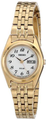 Seiko Women's Gold-Tone Stainless Steel Watch