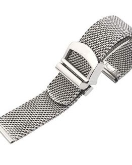Premium Solid Mesh Stainless Steel Bracelets 20mm/22mm Watch Bands