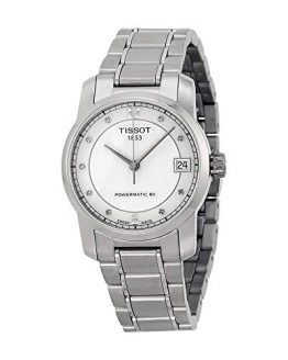 Tissot T-Classic Automatic Mother of Pearl Dial Titanium Ladies Watch