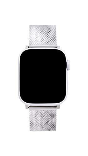 Rebecca Minkoff Stainless Steel Silver Watch Strap