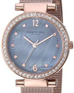 Kenneth Cole New York Women's Classic Analog-Quartz Watch with Stainless-Steel