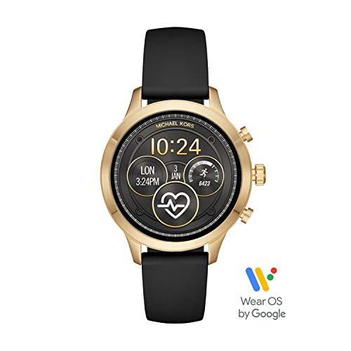Michael Kors Women's Access Runway Plated Touchscreen Watch