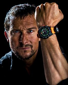 Luminox Limited Edition Bear Grylls Wrist Watch | Black/Orange