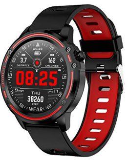 Smart Watch Touch Screen Step Counter Sports Sleep Monitor Bluetooth