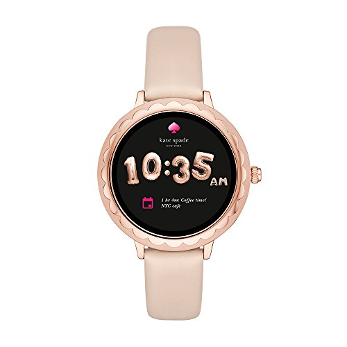 Kate Spade New York Scallop Touchscreen Smartwatch, Rose Gold-tone