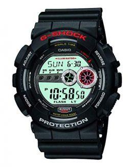 Casio Men's XL Series G-Shock Quartz 200M WR Shock Resistant Resin Color