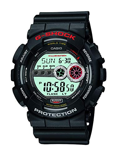 Casio Men's XL Series G-Shock Quartz 200M WR Shock Resistant Resin Color