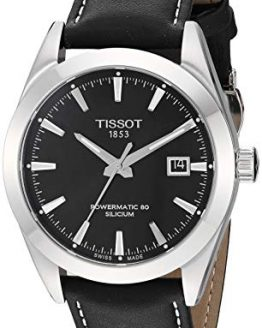 Tissot Mens Gentleman Swiss Automatic Stainless Steel Dress Watch
