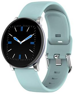 Smart Watch Touch Screen Step Counter Pedometer Blood Pressure Heart Rate