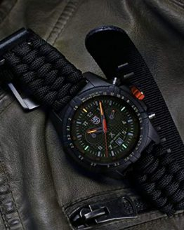 Luminox Limited Edition Bear Grylls Wrist Watch | Black/Green
