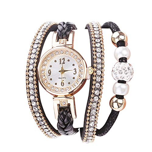 Flow.month Girlfriend Gifts Rose Golden Bracelet Watch, Small Dial Stainless Steel