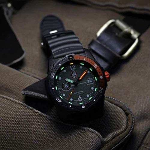 Luminox Limited Edition Bear Grylls Wrist Watch   Black/Orange