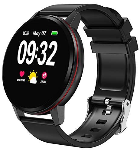 Smart Watch Touch Screen Calorie Counter Pedometer Sport Modes Notification Support Heart Rate Sleep Sport Fitness Tracker for Men Women