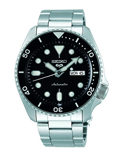 Seiko Men's Analogue Automatic Watch with Stainless Steel Strap