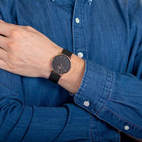 Obaku Denmark - Mens Designer Watch - Classic Yet Modern Design