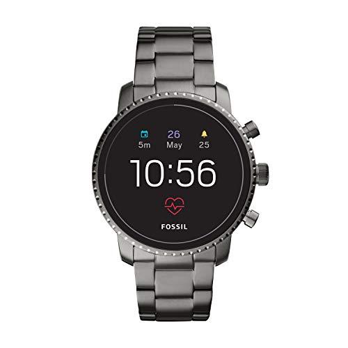 Fossil Men's Gen 4 Explorist HR Heart Rate Stainless Steel Touchscreen Smartwatch