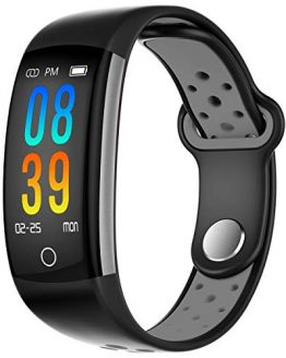 Fitness Activity Tracker Blood Pressure Heart Rate Monitor Calorie Counter Sleep