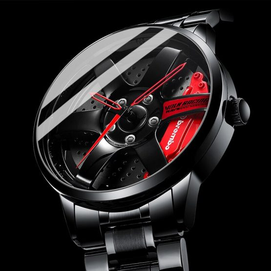 Sport Car Rim Watches Waterproof