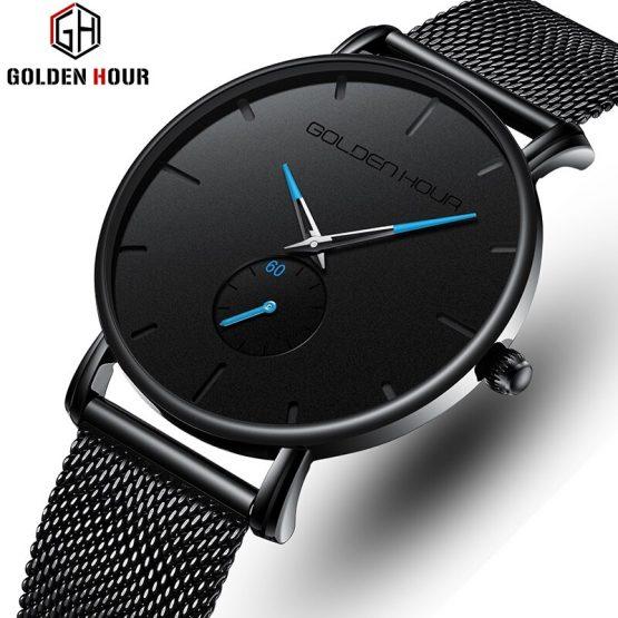 Business Quartz Mens Watches Waterproof Sports Men's Wrist Watch