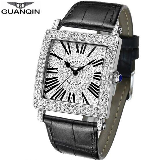 Square Case Watch Men Luxury Men's Wrist Watch