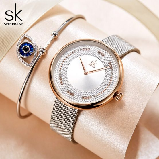 Waterproof Elegant Female Clock Watches