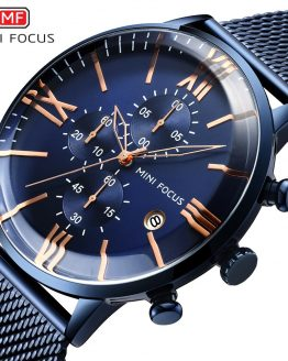 MINI FOCUS Chronograph Mens Watches Top Brand Luxury Quartz