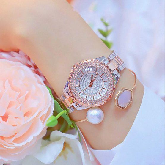 Rhinestone Fashion Watch Women Quartz Watch