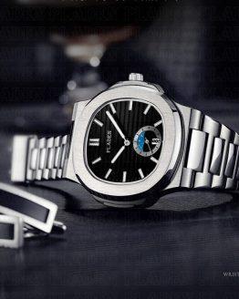 PLADEN Men's Wrist Watch Rado Stainless Steel Strap Designer